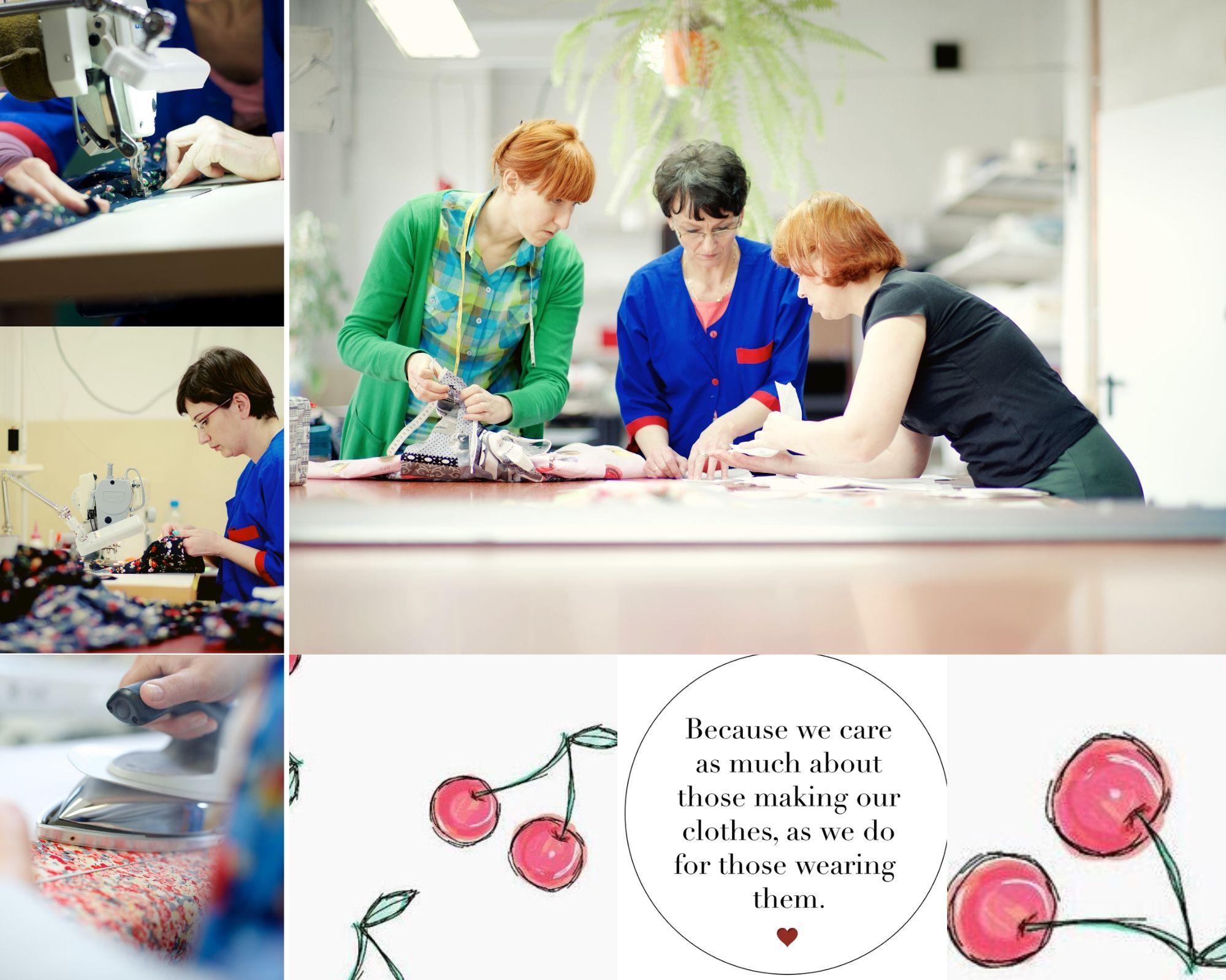 Productie Very Cherry in kleinschalige fabriek in Polen