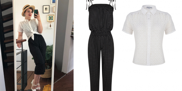 Nieuw in de Very Cherry collectie: de Karoo Jumpsuit en Hollywood Tricot Dress
